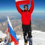 Elbrus, szczyt 08.08.2010