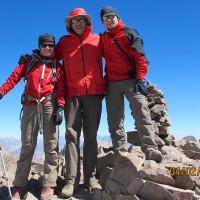 Leszek Cichy, pierwszy zdobywca Mount Everest zimą, spotkany na szlaku.